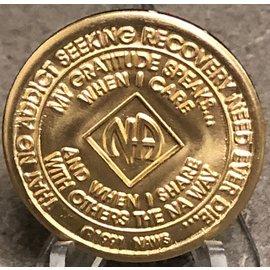 NA Bronze Medallion