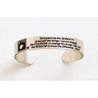 Bracelet, Serenity Prayer Band Bracelet