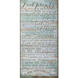 Footprints Print