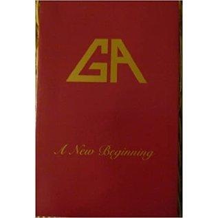 GA - A New Beginning - Softcover