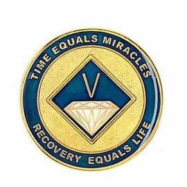 NA Enamel Medallion