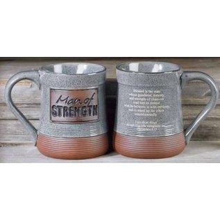 Man of Strength Pottery Mug