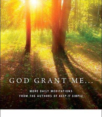 God Grant Me...