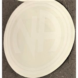 Sticker, NA Logo Large White
