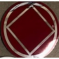 Sticker, NA Symbol Large Red/Silver