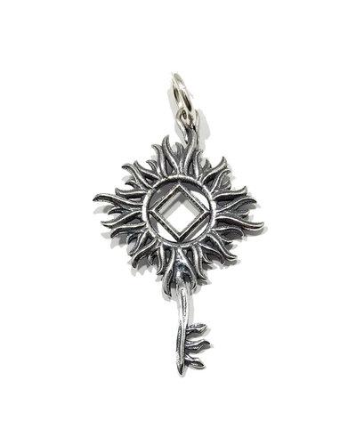 Valley Graphics NA Sun key pendant