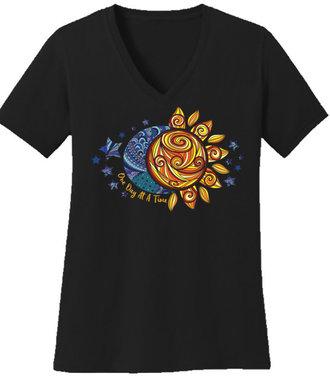 ODAT Sun/Moon Tee/ Large