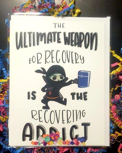 Celebrady Ultimate Weapon Greeting Card