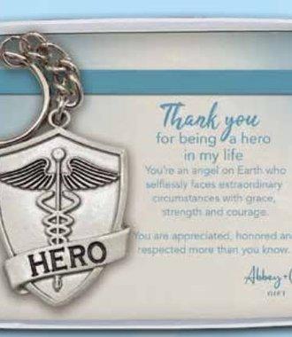 Silver Hero Shield- Healthcare Workers
