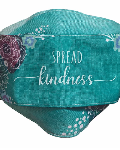 Abbey CA Gifts Spread Kindness Face Mask