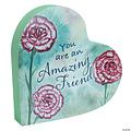Abbey CA Gifts Amazing Friend- 2 Sided Heart Block