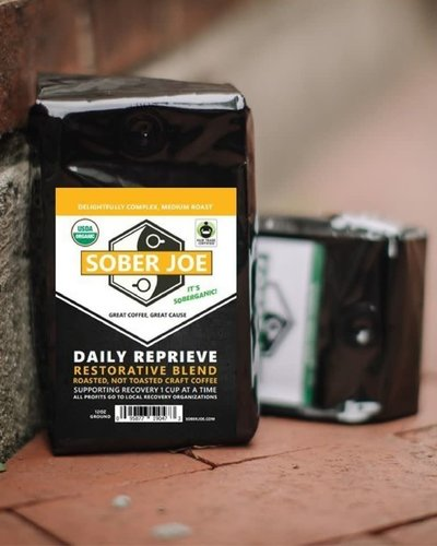 Daily Reprieve Organic Sober Joe Coffee