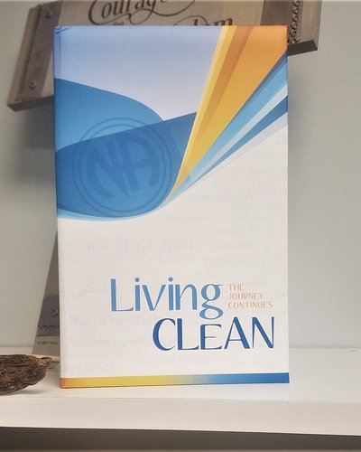 Living Clean -  Softcover