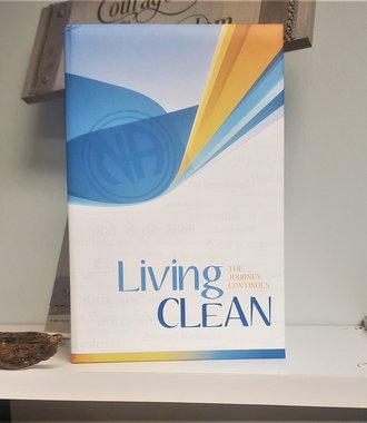 Living Clean - Hard Cover