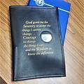 NA Serenity Prayer Basic Text  Book Cover- Black