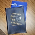 NA Serenity Prayer Basic Text  Book Cover- Blue