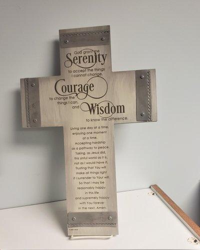 Serenity Wall Cross