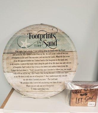 Footprints Barrel Lid