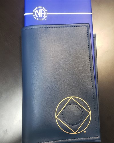 NA Symbol Basic Text Book Cover- Blue
