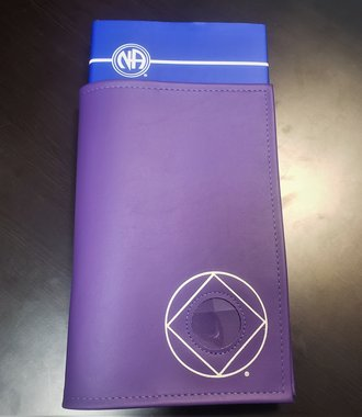 NA Symbol Basic Text Book Cover - Purple