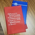 NA Serenity Prayer Basic Text  Book Cover- Red
