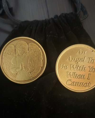 Angel To Be With You Gratitude Coin
