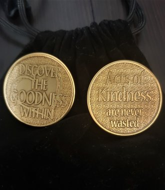 Discover the Goodness Within Gratitude Coin