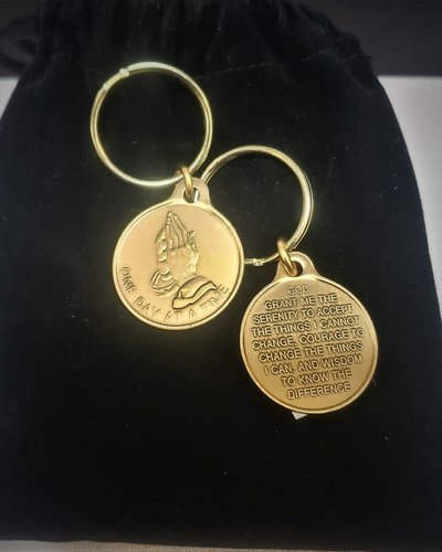 ODAT- Praying Hands Key Ring