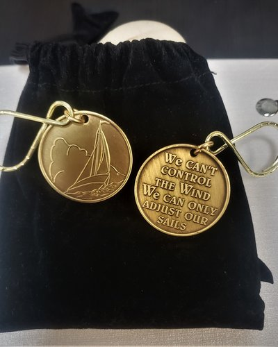 Sailboat Key Ring- Large