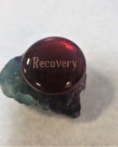 Glass Thumb Stone - Recovery