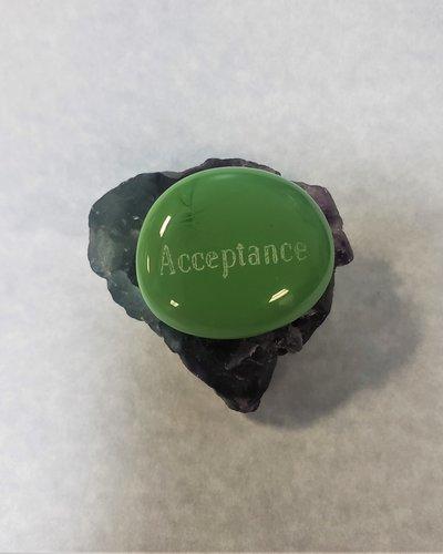 Glass Thumb Stone - Acceptance