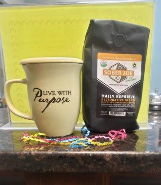 Live With Purpose Mug & Coaster Set