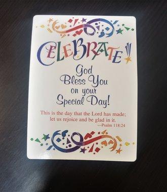 Celebrate Verse Card