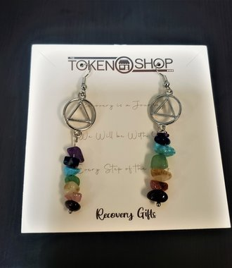 Chakra Stones AA Earrings