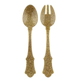 Sabre Salad Set 2 PCS Glitter Gold