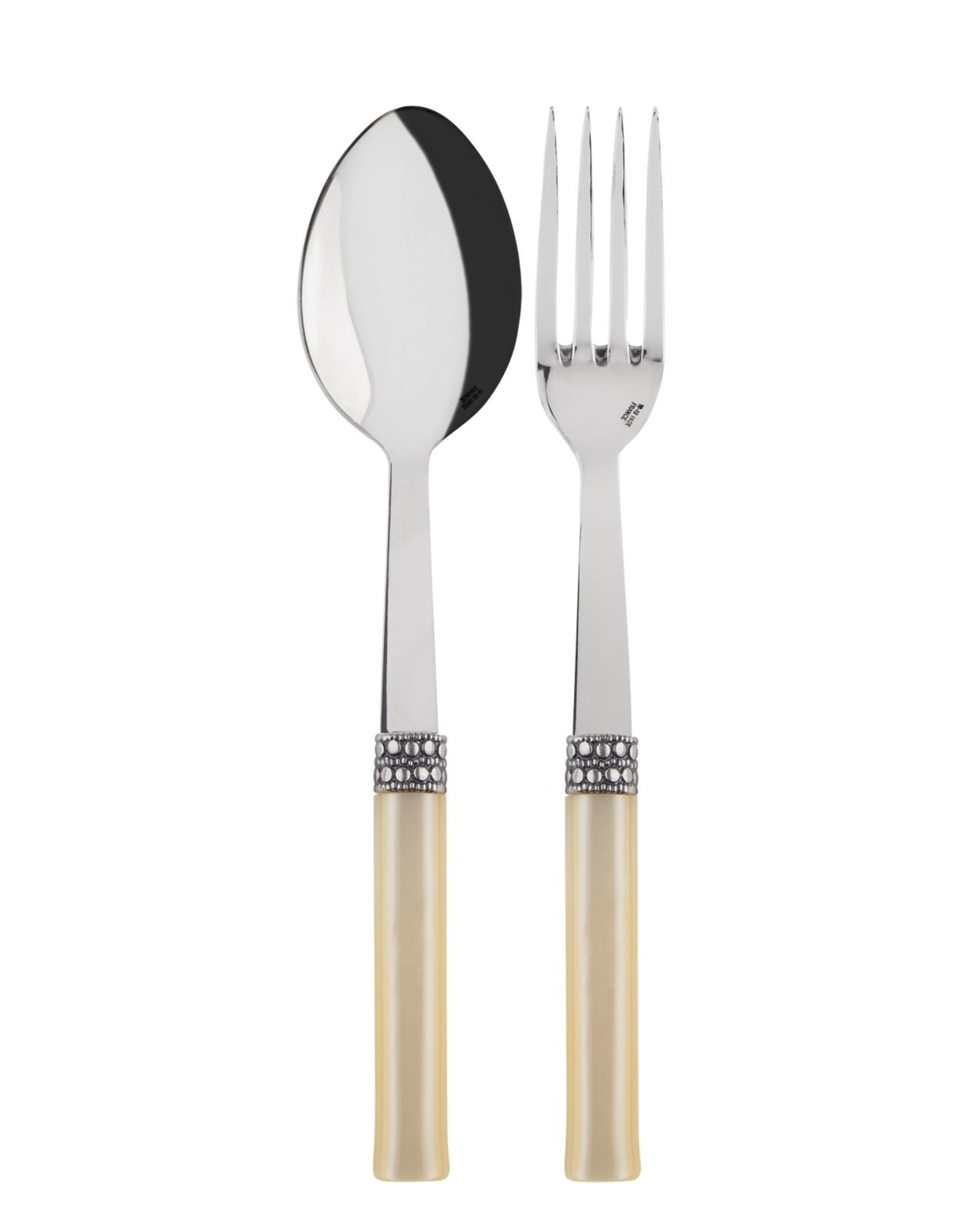 Sabre Serving Set Pearl