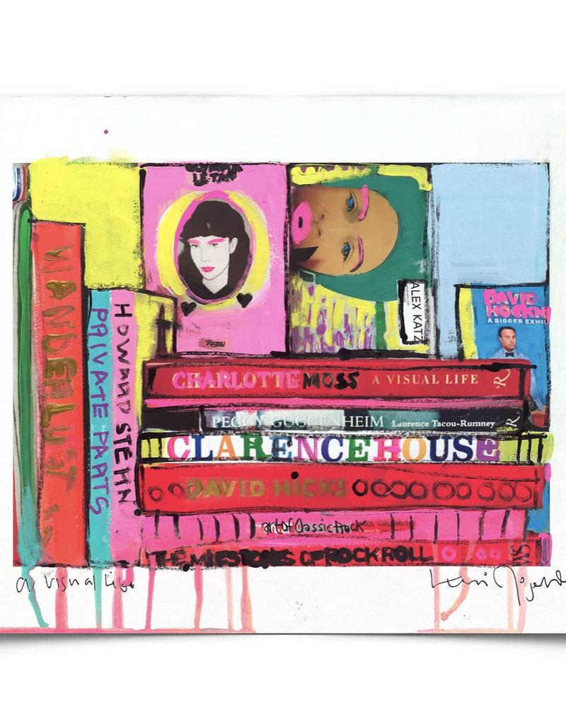 Kerri Rosenthal Visual Life Mixed Media Plexi
