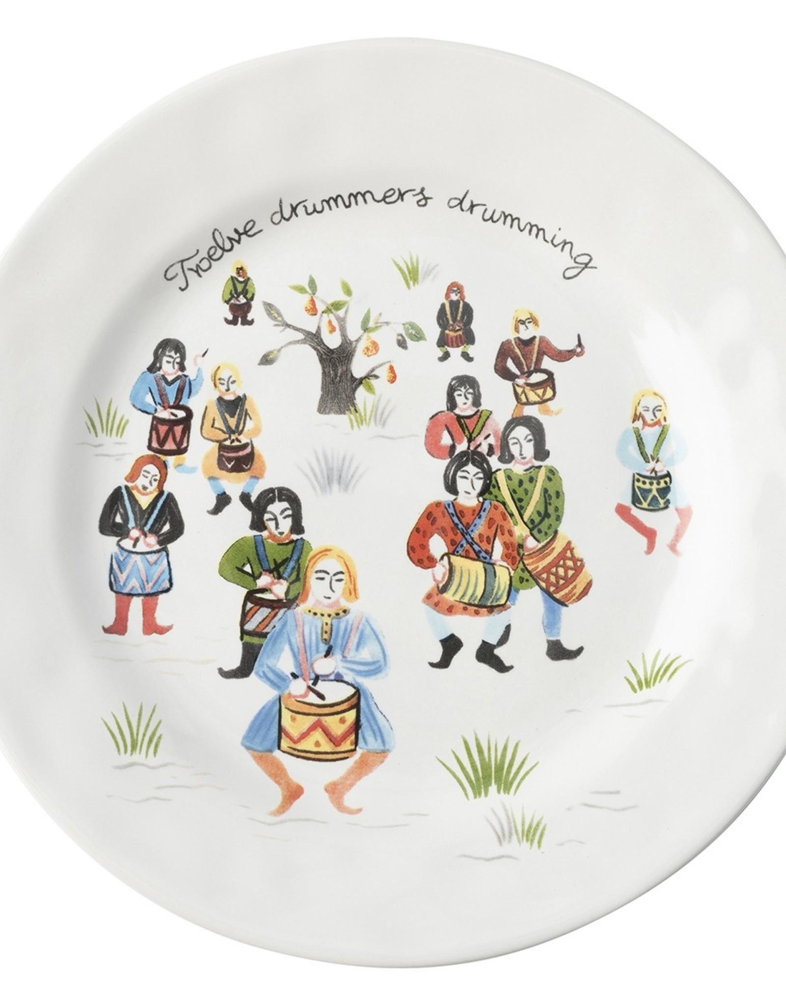 Juliska Dessert/Salad Plates set/12 12 Days of Xmas