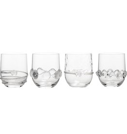 Juliska S/4 Tumblers Heritage Collection