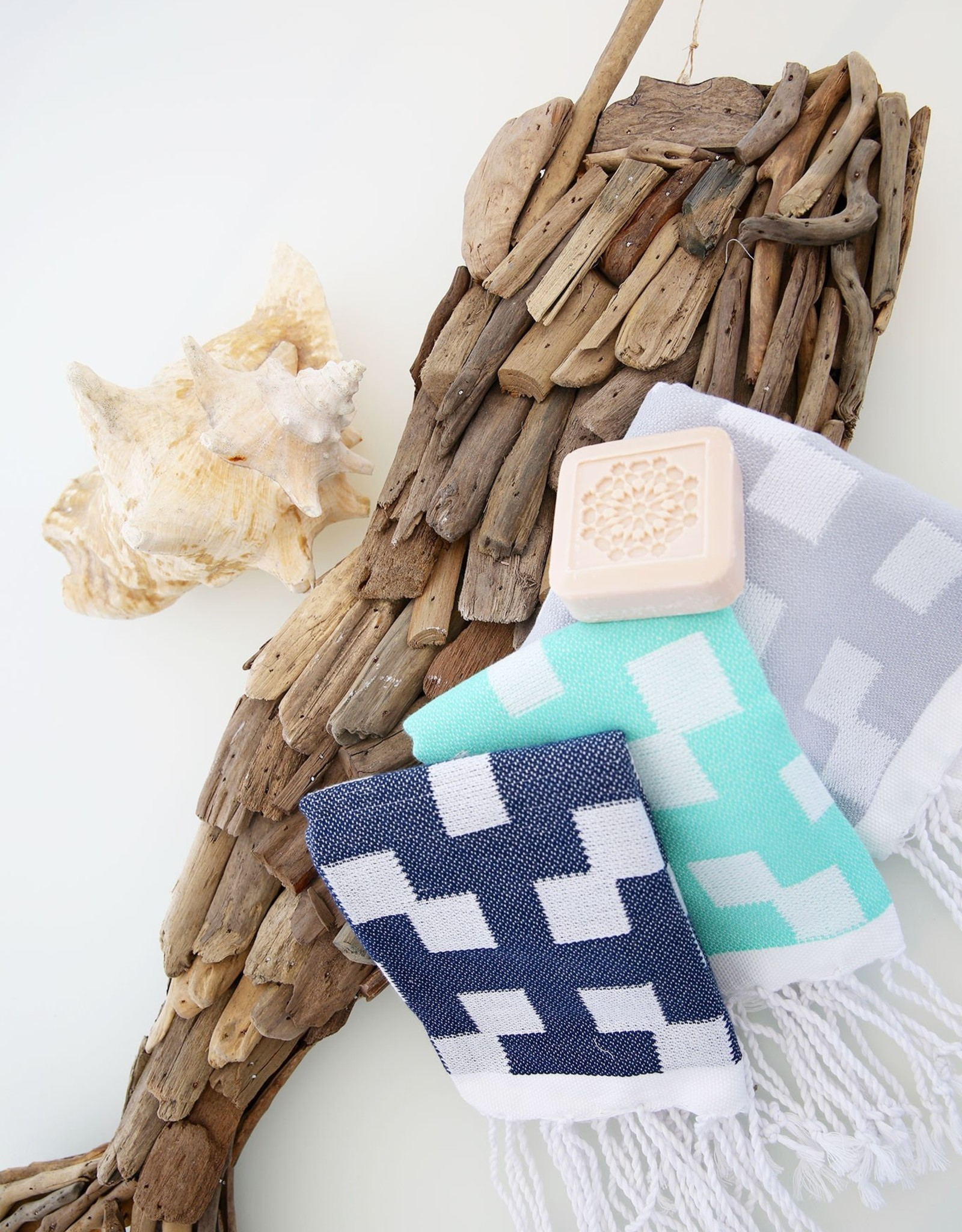 Scents & Feel Guest Towels Hamptons