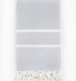 Scents & Feel Fouta Striped Herringbone Body Towel