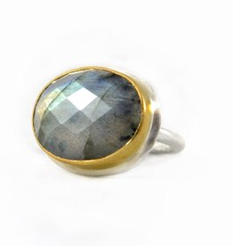 Emily Rose Gems Labradorite Ring SZ 6.5