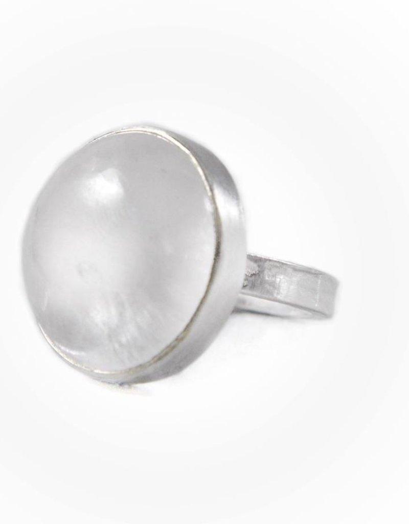 Emily Rose Gems Quartz Ring SZ 8.5