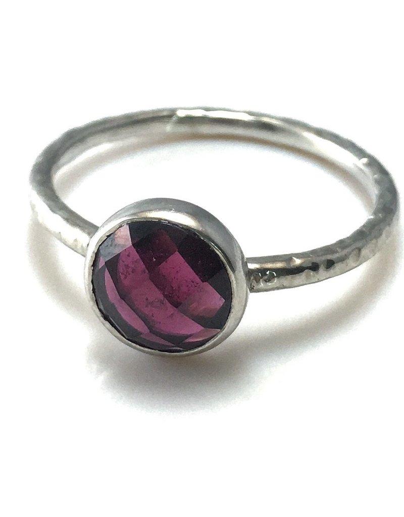 Emily Rose Gems Garnet Ring SZ 7