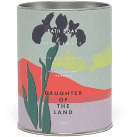 Daughter of the Land Iris & Rosehip Bath Soak