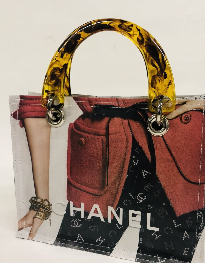 Couture Planet Coco Chanel w/Tortoise Bag