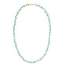 Machete Freshwater Pearl Necklace - Mint