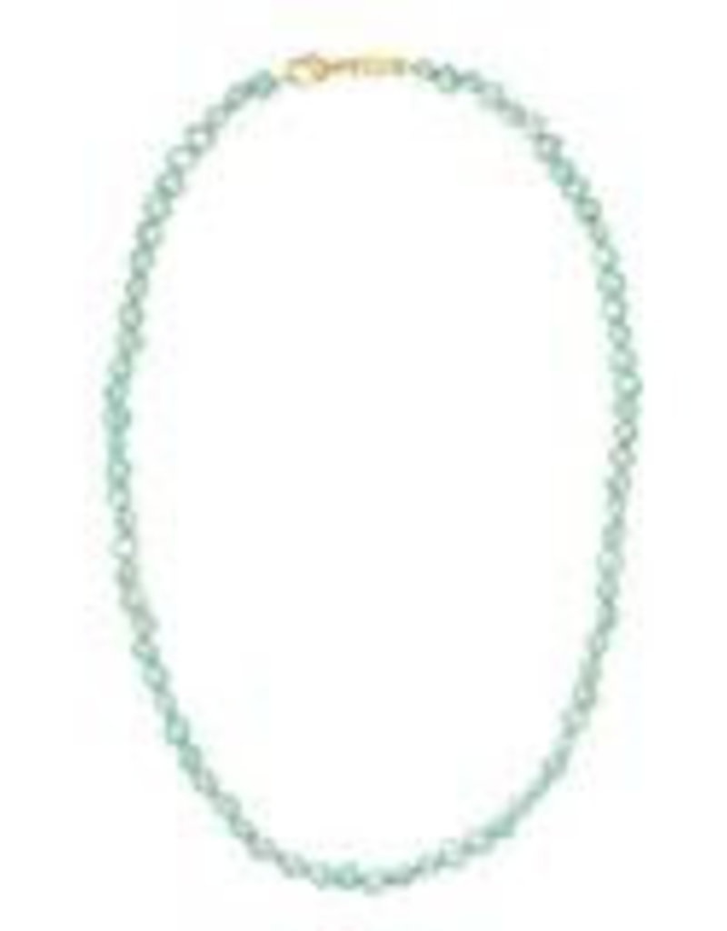 Machete Freshwater Pearl Necklace - Mint