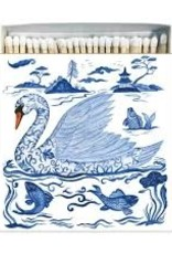 Paper Products Design Blue Swan Matches