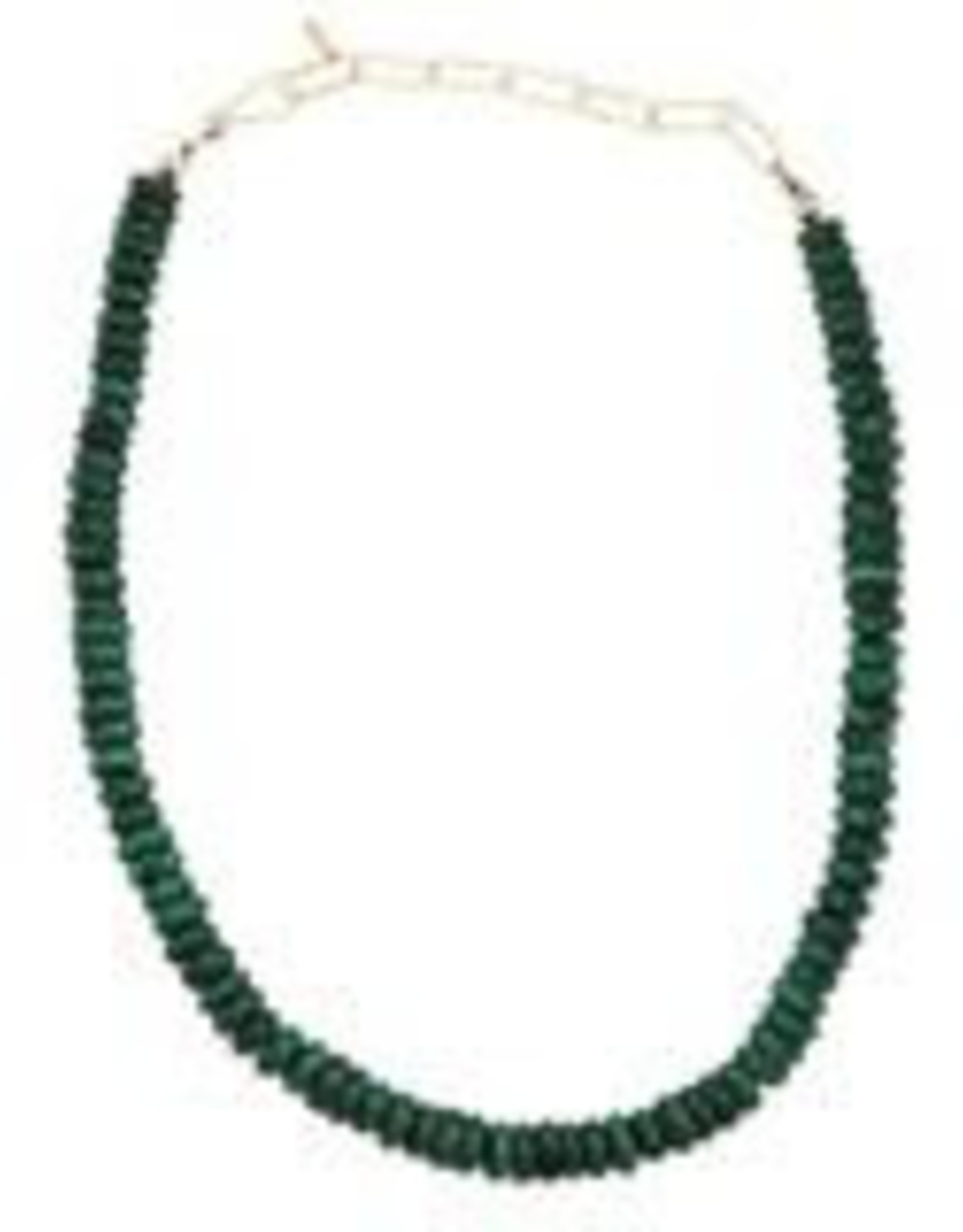 Kris Nations Green Malachite Necklace